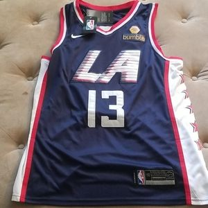 Paul George La Clippers Blue Jersey